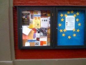 CD # 28: Public Bulletin Board, Taylor St.