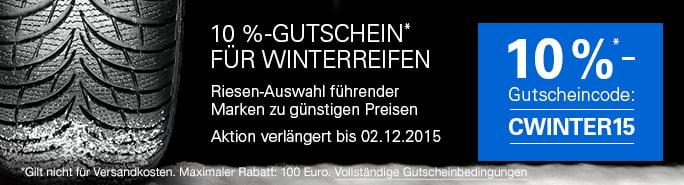 ebay winterreifen gutschein