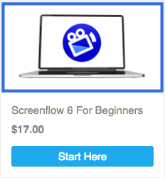 screenflow 6 for beginners course