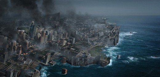 Earth Shattering Disaster Scene in Photoshop