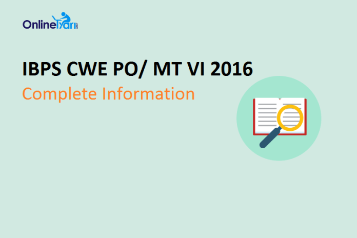 IBPS-PO-2016-Complete-Information