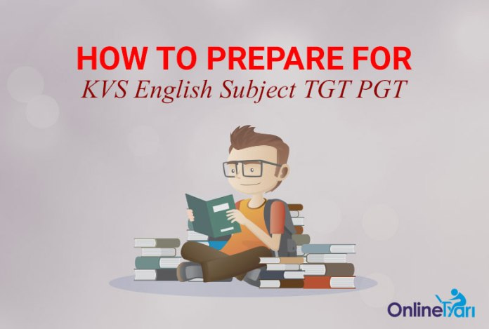 How to Prepare for KVS English Subject TGT PGT