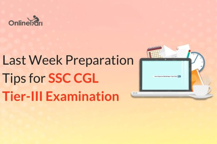 Last Week Preparation Tips for SSC CGL Tier 3 English Descriptive Paper