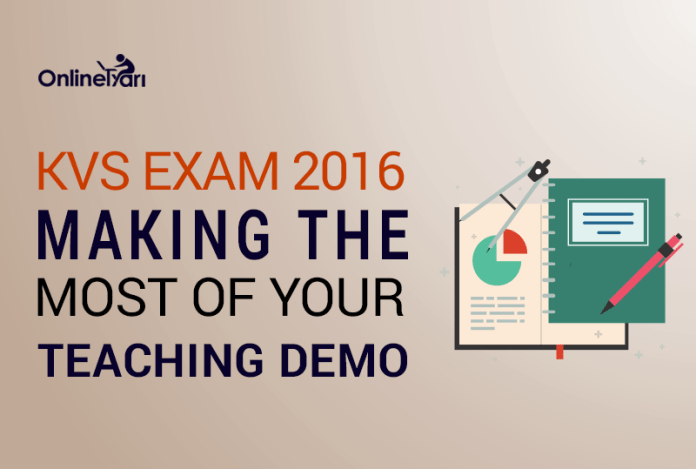 KVS Exam 2016: Making the Most of Your Teaching Demo