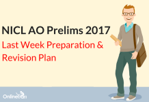 NICL AO Prelims Final Week Revision Plan: Things to Do