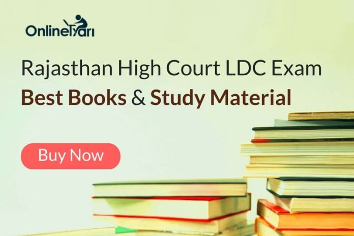 Rajasthan High Court LDC Exam Best Books and Study Material