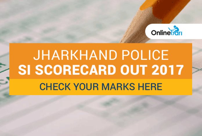 Jharkhand Police SI Scorecard Out 2017: Check your marks here