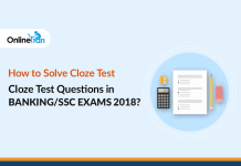 How to Solve Cloze Test Questions in Banking/SSC Exams 2018?