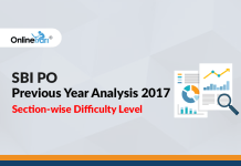 SBI PO Previous Year Analysis 2017: Section-wise Difficulty Level