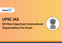 UPSC IAS 80 Most Important International Organizations For Exam