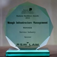 Congratulations Waugh Infrastructure Management - Business Excellence Awards (Service Industry )