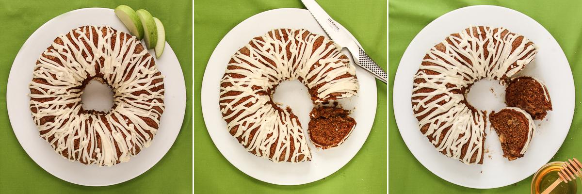 Make a gluten-free Honey Apple Cake for Rosh Hashanah!