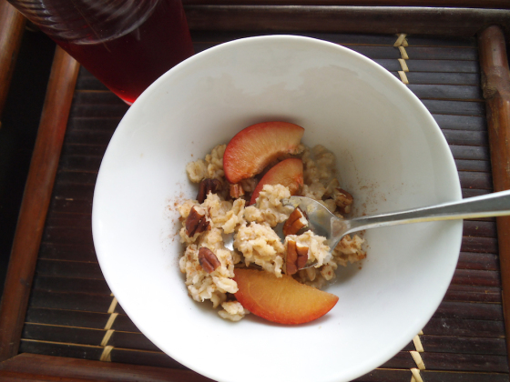 Apple Cider Overnight Oats from Swirls and Spice