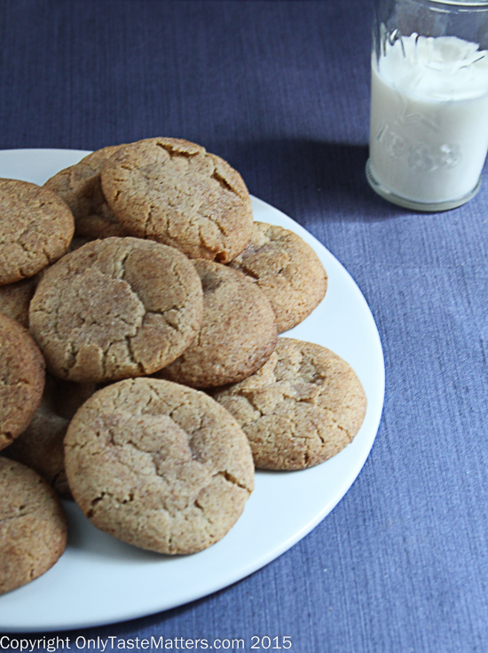 Make Snickerdoodles for your gluten free cookie swap!