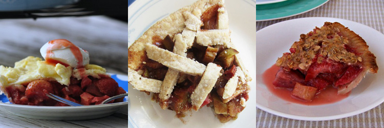 Rhubarb Pies