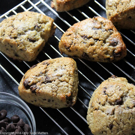 Chocolate Chip Scones {gluten free} and a Gluten-free Mother's Day ...