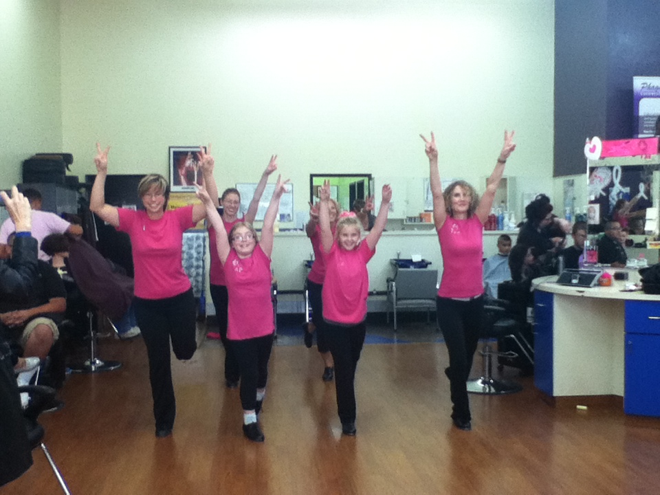 Dancing at Phagan's Beauty School