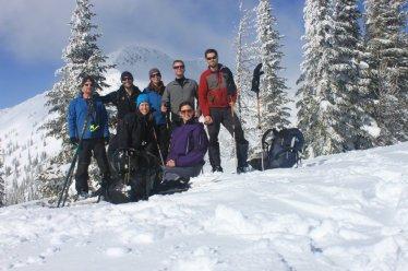 Yurtopia backcountry ski hut in British Columbia