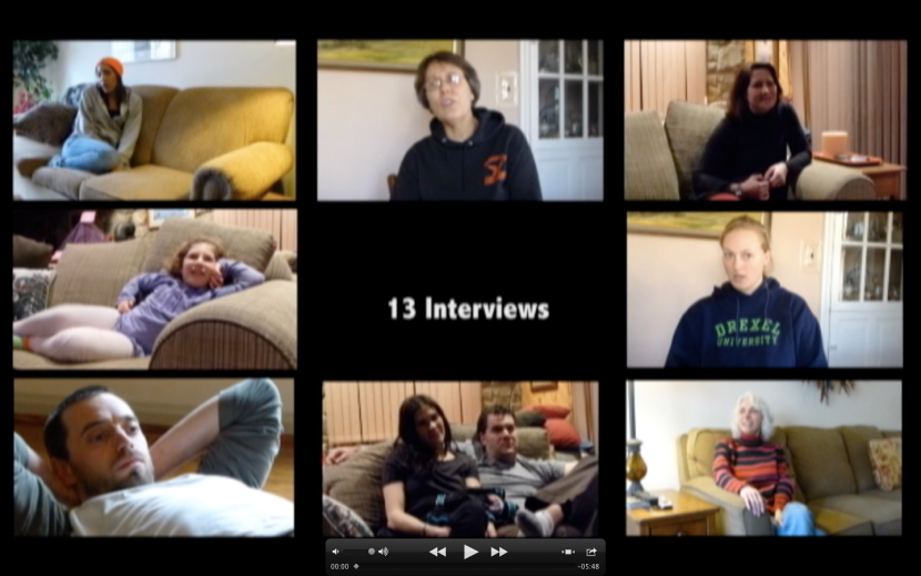 13 interviews video - on the horizon line blog