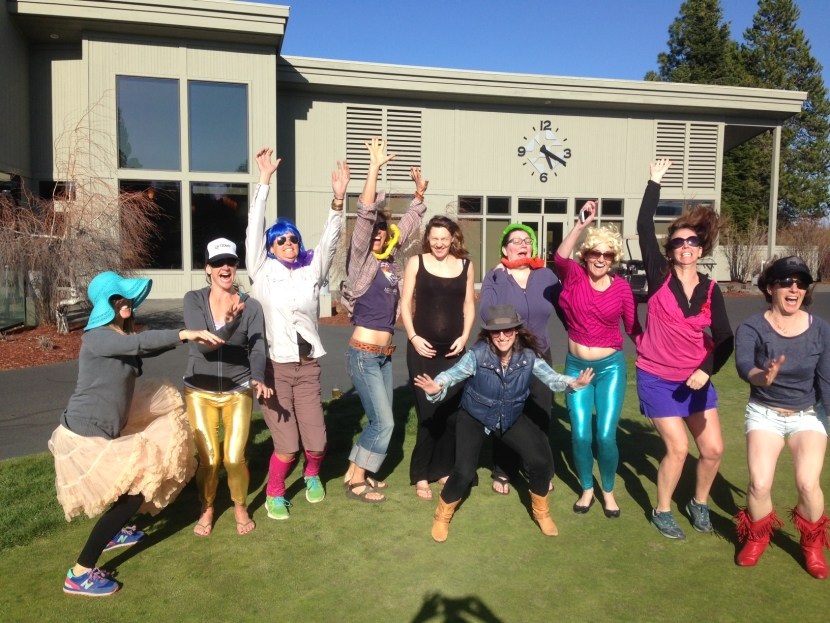 Bachelorette Party in Bend - On the Horizon Line Blog - brianna randall