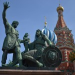 on the road to moscow - russia-st basil cathedral