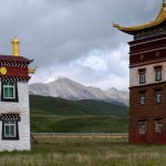On the road to Tibet - Tagong-27