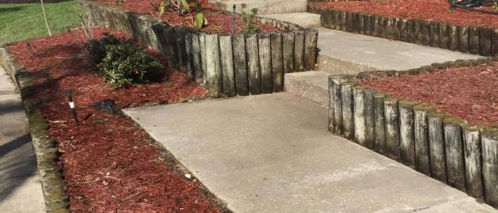 Walkway pressure washing Tampa Bay FL After