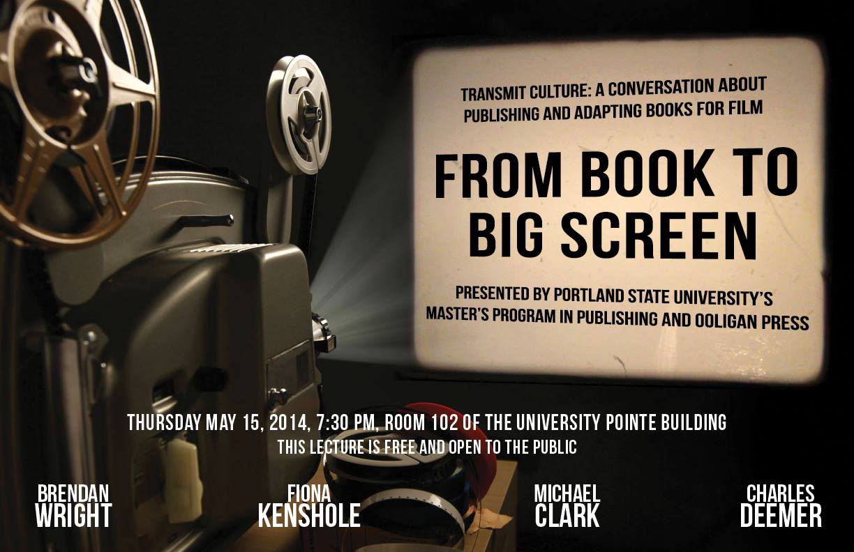 Transmit Culture: From Book to Big Screen