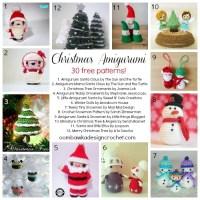 30 Free Christmas Amigurumi Patterns!