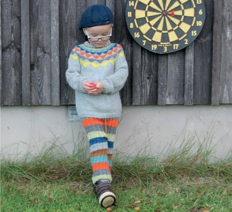 Garland Sweater with Stripy Pants - Sweet Pickles - Book Review -