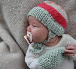 Winter Baby Hat and Mittens - Sweet Pickles - Book Review -
