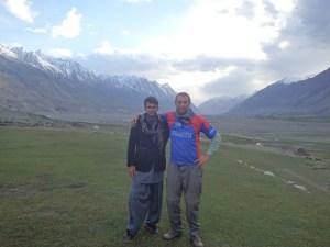 Farhad and me.