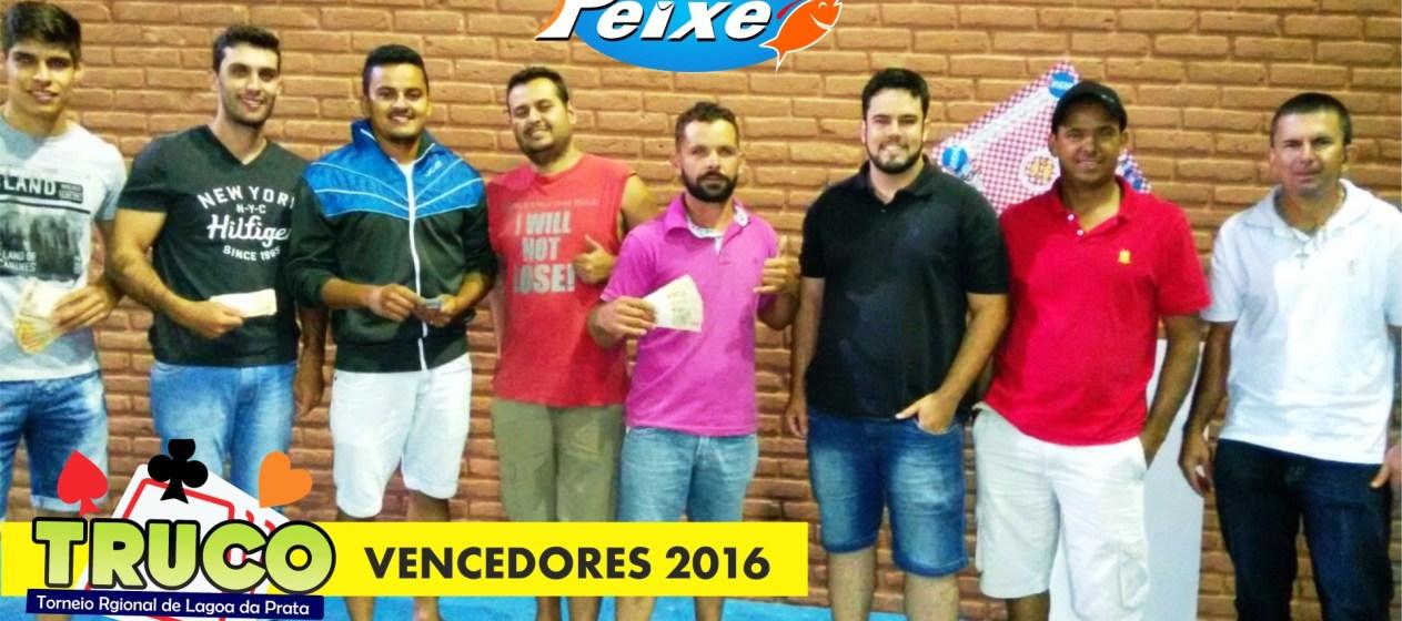 Festival do Peixe premia duplas vencedoras deste ano.
