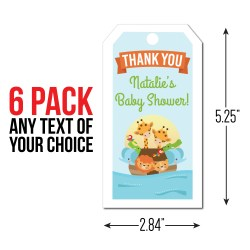 Brilliant Ark Personalized Thank You Tags Ark Baby Shower Party Supplies Canada Open A Party Ark Wiki Dye Table inspiration Ark Dye Table