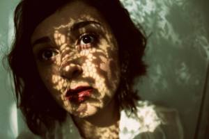 Tara self-portrait in shadows