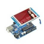 tft lcd 3.2″ shield + touch panel TF Reader for arduino
