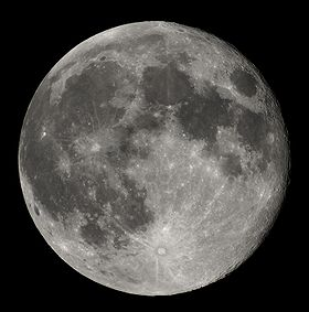 Full Moon from Northern Hemisphere