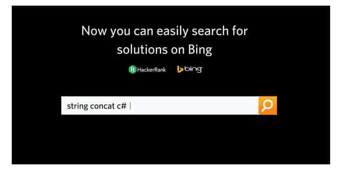 Microsoft Bing HackerRank