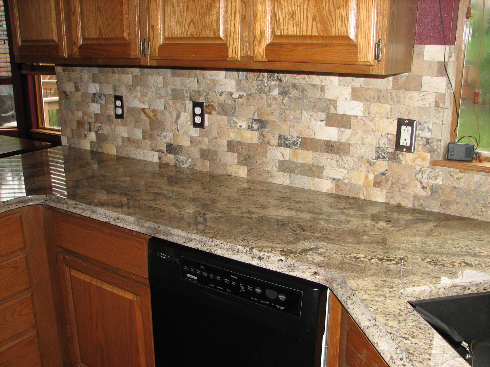 decoration kitchen modern stacked stone backsplash photos with no grout design stacked stone backsplash with variety of finishes design for amazing kitchen or bathroom design