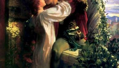 Sir Franck Dicksee: Romeo e Giulietta