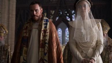 Macbeth (Michael Fassbender, l.) und Lady Macbeth (Marion Cotillard, r.)