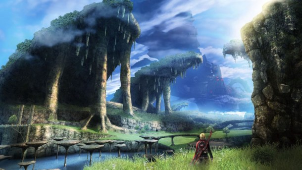 Shulk in Gaur Plains | Xenoblade Chronicles