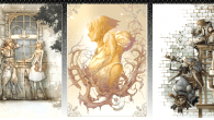 New artwork for Pandora's Tower posted on Nintendo's site.