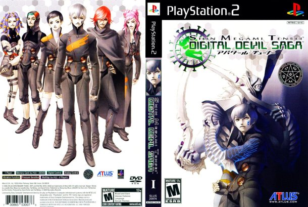 Digital Devil Saga | Box art