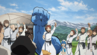 Magi Ep. 4 introduces us to the Kouga clan and their struggle with the Kou Empire.