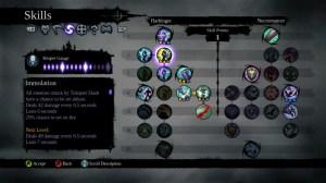 Darksiders II skill tree