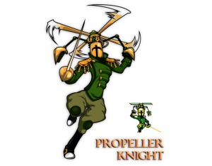 Shovel Knight Propeller Knight