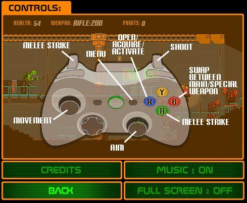 Bad Bots   Controller Controls