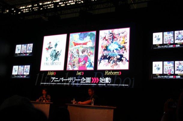 Final Fantasy XI, Dragon Quest X, and Final Fantasy XIV: A Realm Reborn crossover