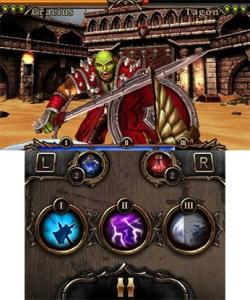 Rage of the Gladiator | Combo Menu